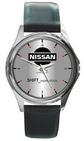 Nissan Leather Watch