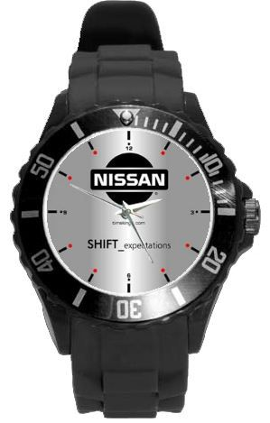 Nissan Silicone Watch